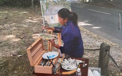 Peintres de village, Fontaine Daniel, Septembre 2019